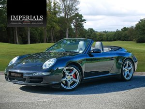 2007 Porsche  911  997 CARRERA 4S 3.8 CABRIOLET TIPTRONIC AUTO  2