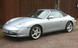 PORSCHE 911 Carrera 4 Cabriolet manual 33000miles
