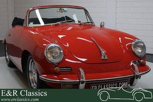 Porsche 356B T6 Cabriolet Super 90 1962 Engine overhauled
