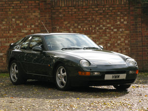 1993- PORSCHE 968 COUPE - MANUAL- METALLIC OAK GREEN