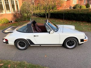 1985 1984 Porsche 911 Carrera Targa Manual Ivory(~)Burgundy $59.9 For Sale