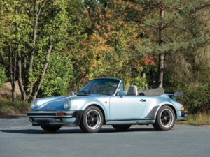1988 Porsche 911 Turbo Cabriolet 26k miles (RHD) Manual For Sale