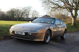 Porsche 944 Auto 1982 - To be auctioned 31-01-20
