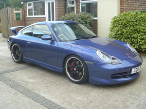 2000 Porsche 996 C2 Factory fitted GT3 Aero Kit. SOLD