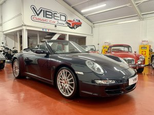 2007 Porsche 911 (997) Carrera 4S Cabriolet // 1 Owner 16k Miles For Sale