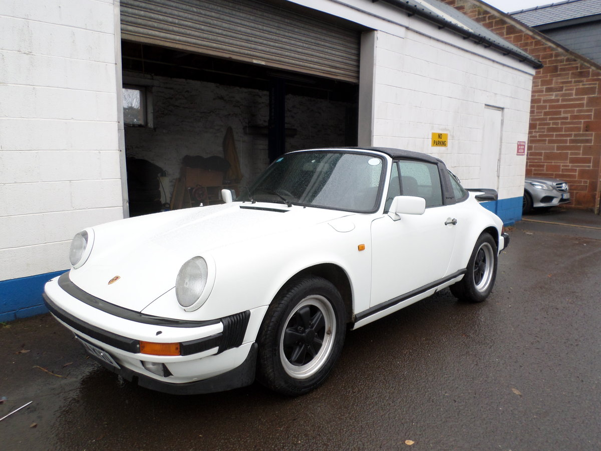 1984 Porsche 911 targa 3.2 aircooled project may take part ex For Sale (picture 1 of 6)