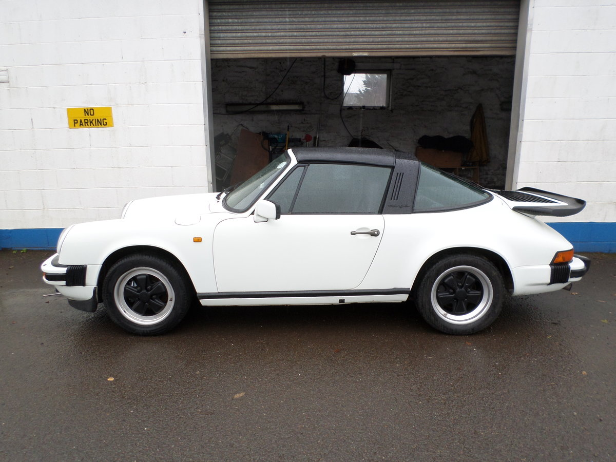 1984 Porsche 911 targa 3.2 aircooled project may take part ex For Sale (picture 2 of 6)