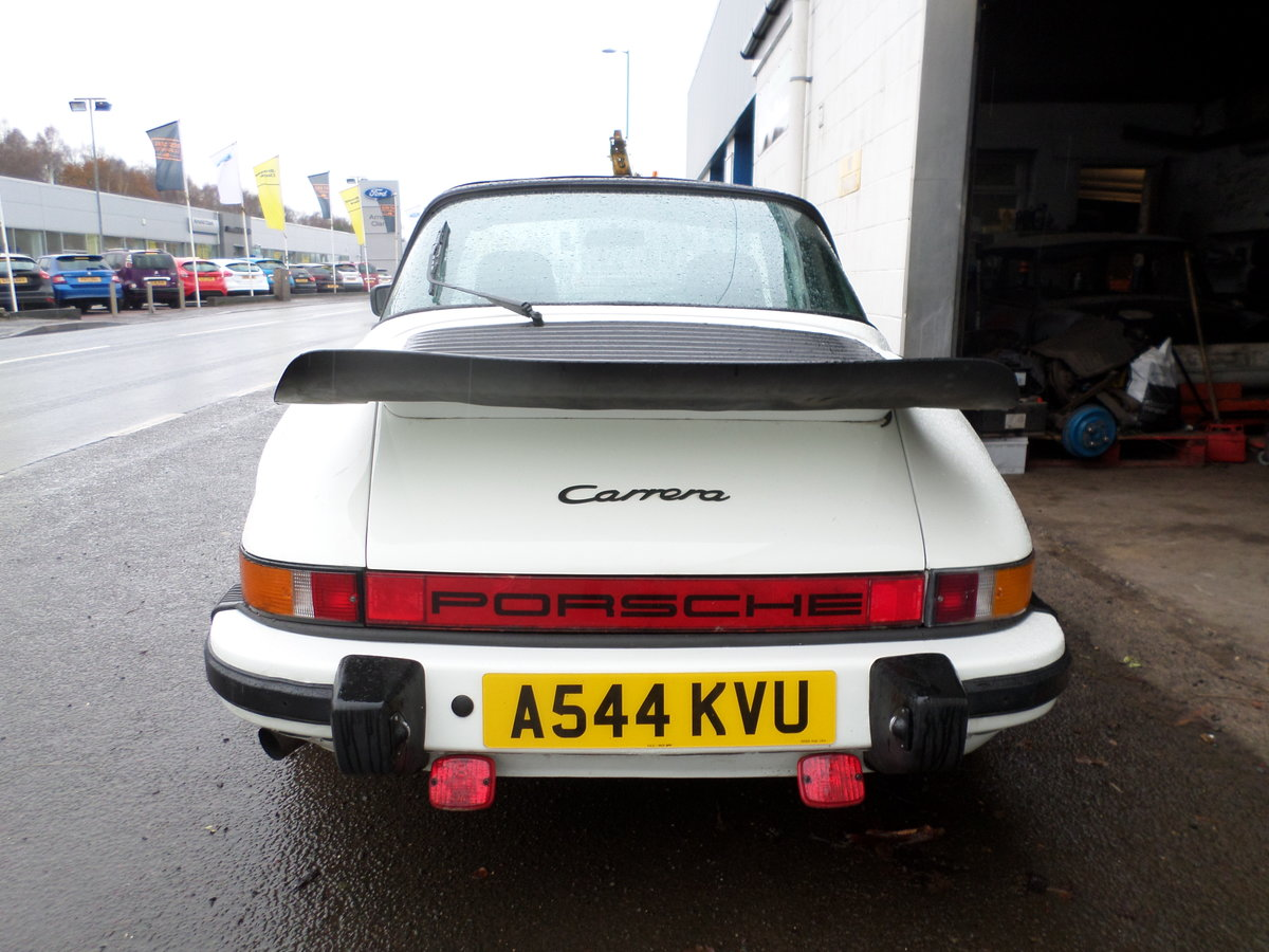 1984 Porsche 911 targa 3.2 aircooled project may take part ex For Sale (picture 3 of 6)