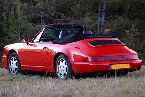 1991 PORSCHE 964 C2 CAB 88000 KMS For Sale