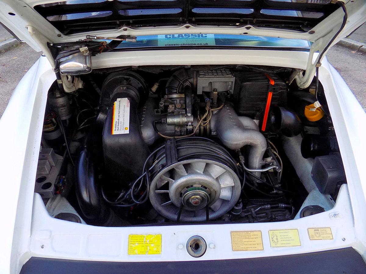 1987 PORSCHE 911 CARRERA SPORT TARGA For Sale (picture 4 of 6)