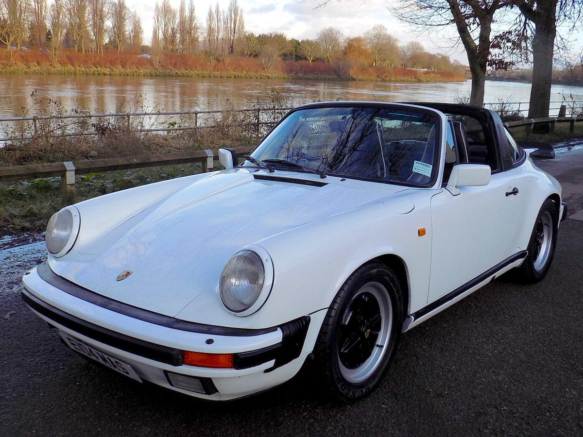 1987 PORSCHE 911 CARRERA SPORT TARGA For Sale (picture 6 of 6)