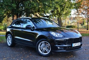 2017 Porsche Macan 3.0 TD V6 S PDK 4W 5dr One Lady Owner SOLD