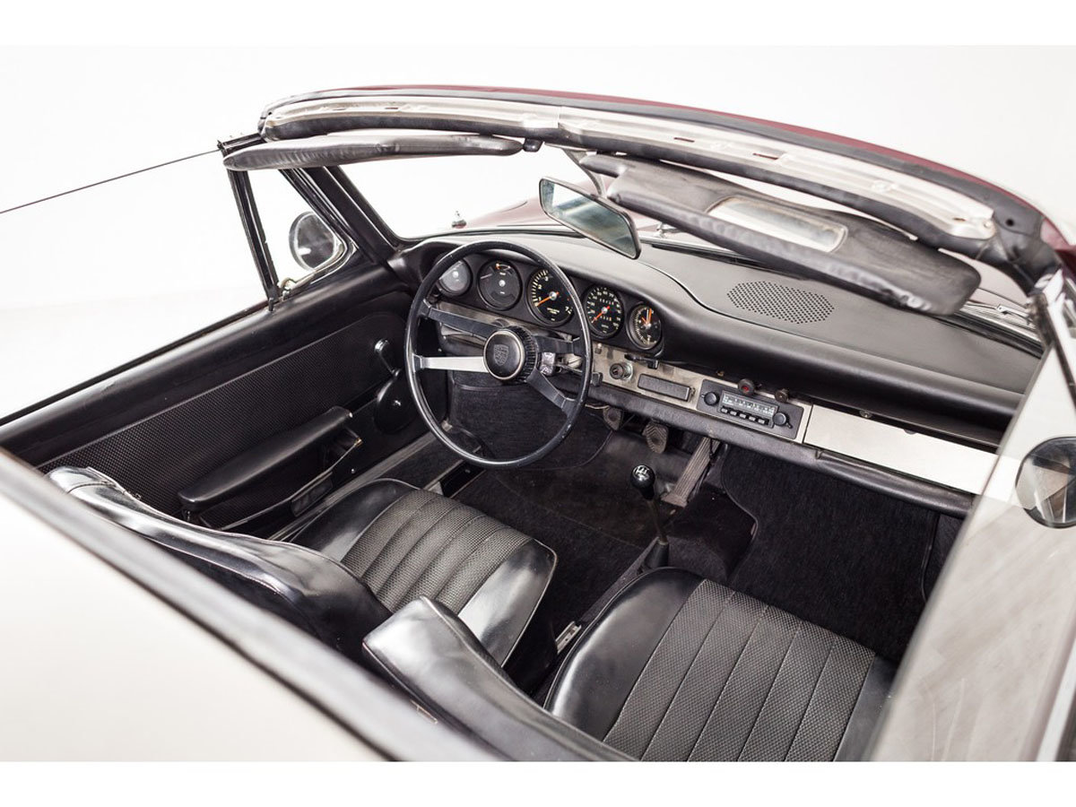 1968 Porsche 912 Targa 17 Jan 2020 For Sale by Auction (picture 4 of 6)
