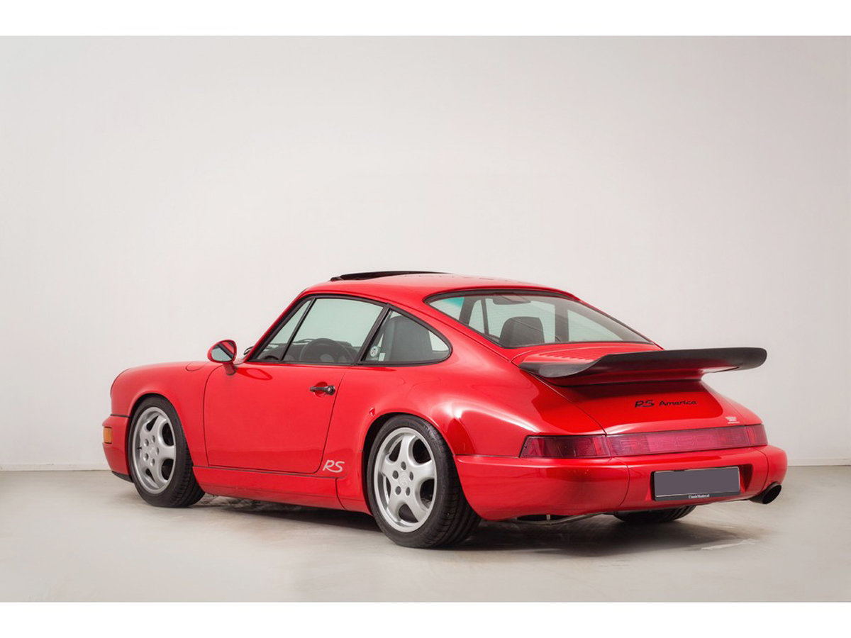 1992 Porsche 964 RS America 17 Jan 2020 For Sale by Auction (picture 3 of 6)