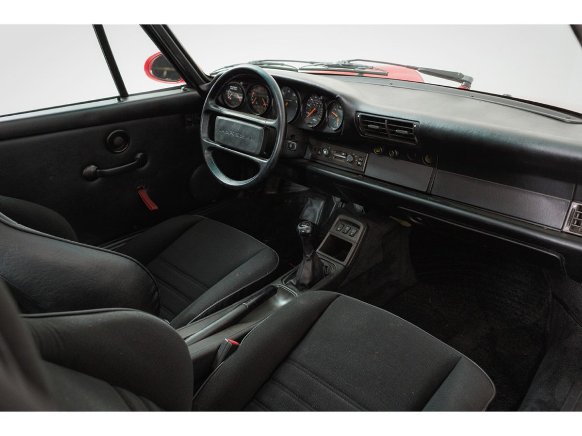 1992 Porsche 964 RS America 17 Jan 2020 For Sale by Auction (picture 4 of 6)