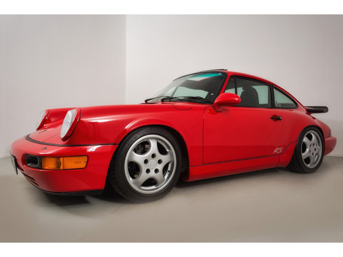 1992 Porsche 964 RS America 17 Jan 2020 For Sale by Auction (picture 5 of 6)