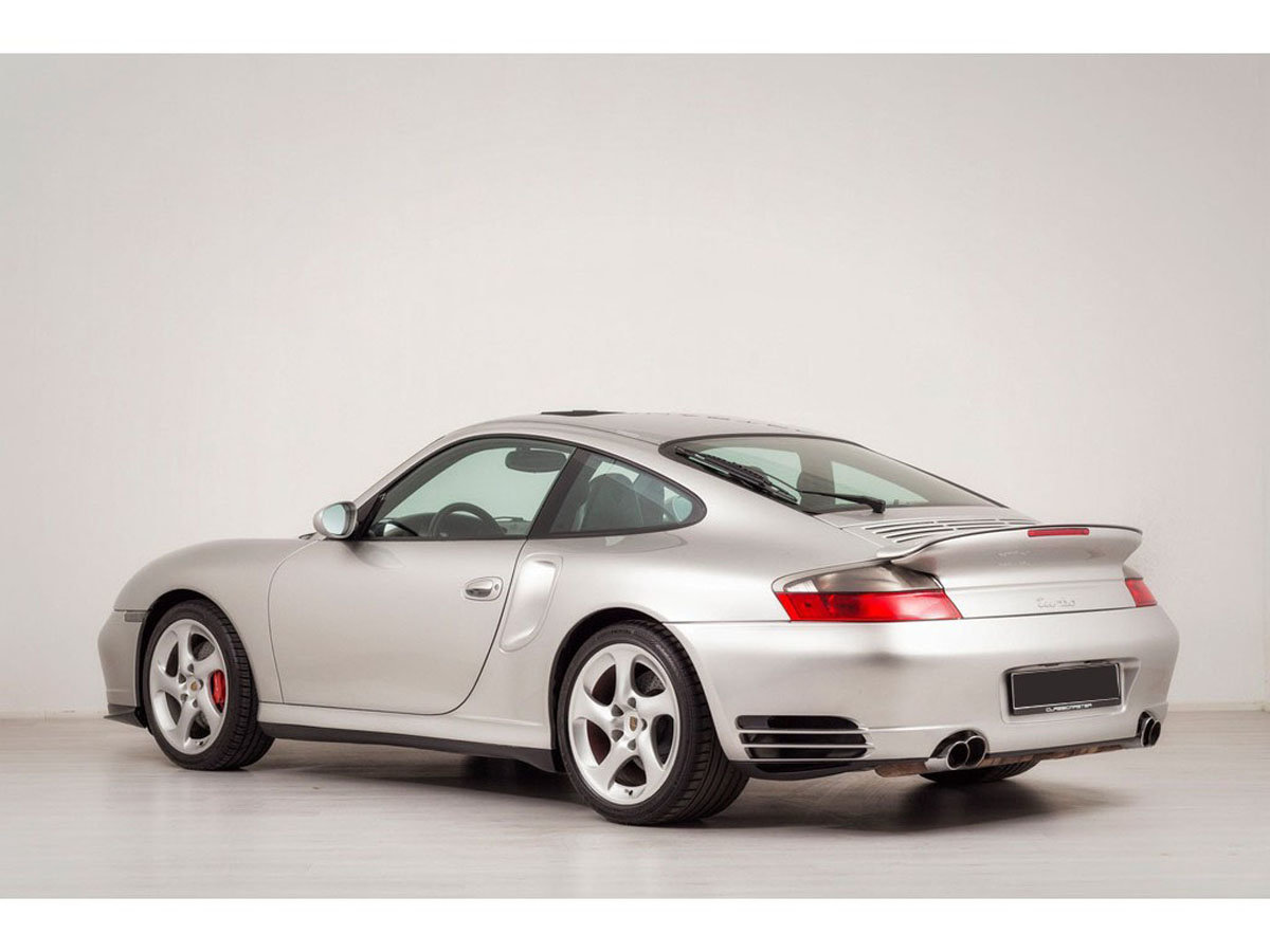 2002 Porsche 996 Turbo Coupe 17 Jan 2020 For Sale by Auction (picture 3 of 6)