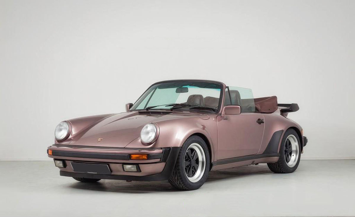 1988 Porsche 930 Turbo Cabriolet 17 Jan 2020 For Sale by Auction (picture 1 of 6)