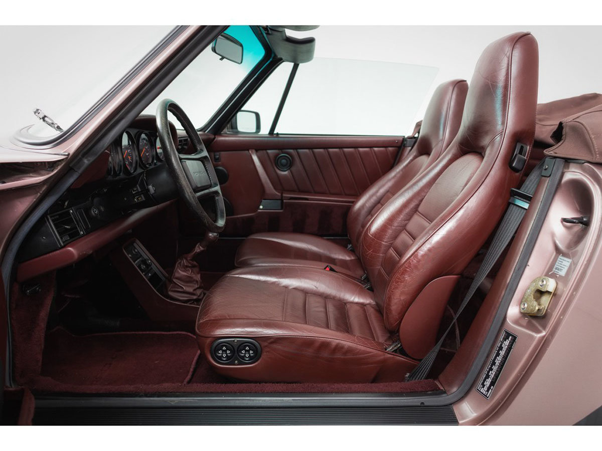 1988 Porsche 930 Turbo Cabriolet 17 Jan 2020 For Sale by Auction (picture 2 of 6)
