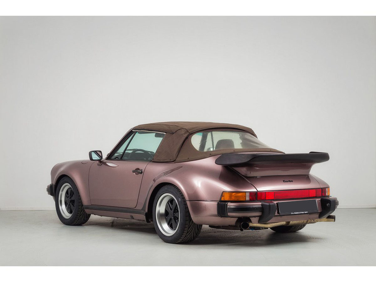 1988 Porsche 930 Turbo Cabriolet 17 Jan 2020 For Sale by Auction (picture 3 of 6)