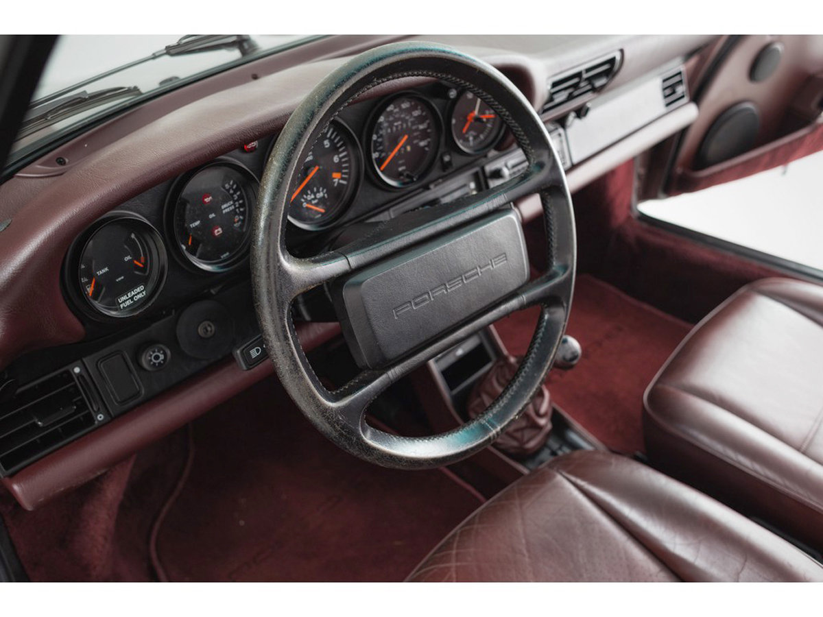 1988 Porsche 930 Turbo Cabriolet 17 Jan 2020 For Sale by Auction (picture 5 of 6)