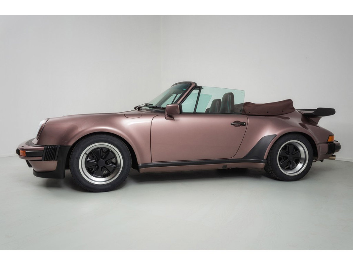 1988 Porsche 930 Turbo Cabriolet 17 Jan 2020 For Sale by Auction (picture 6 of 6)