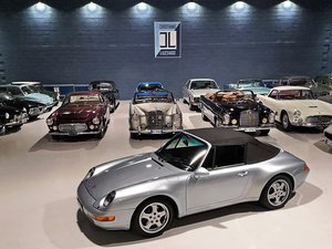 1995 PORSCHE 993 CARRERA 2 CABRIOLET  For Sale