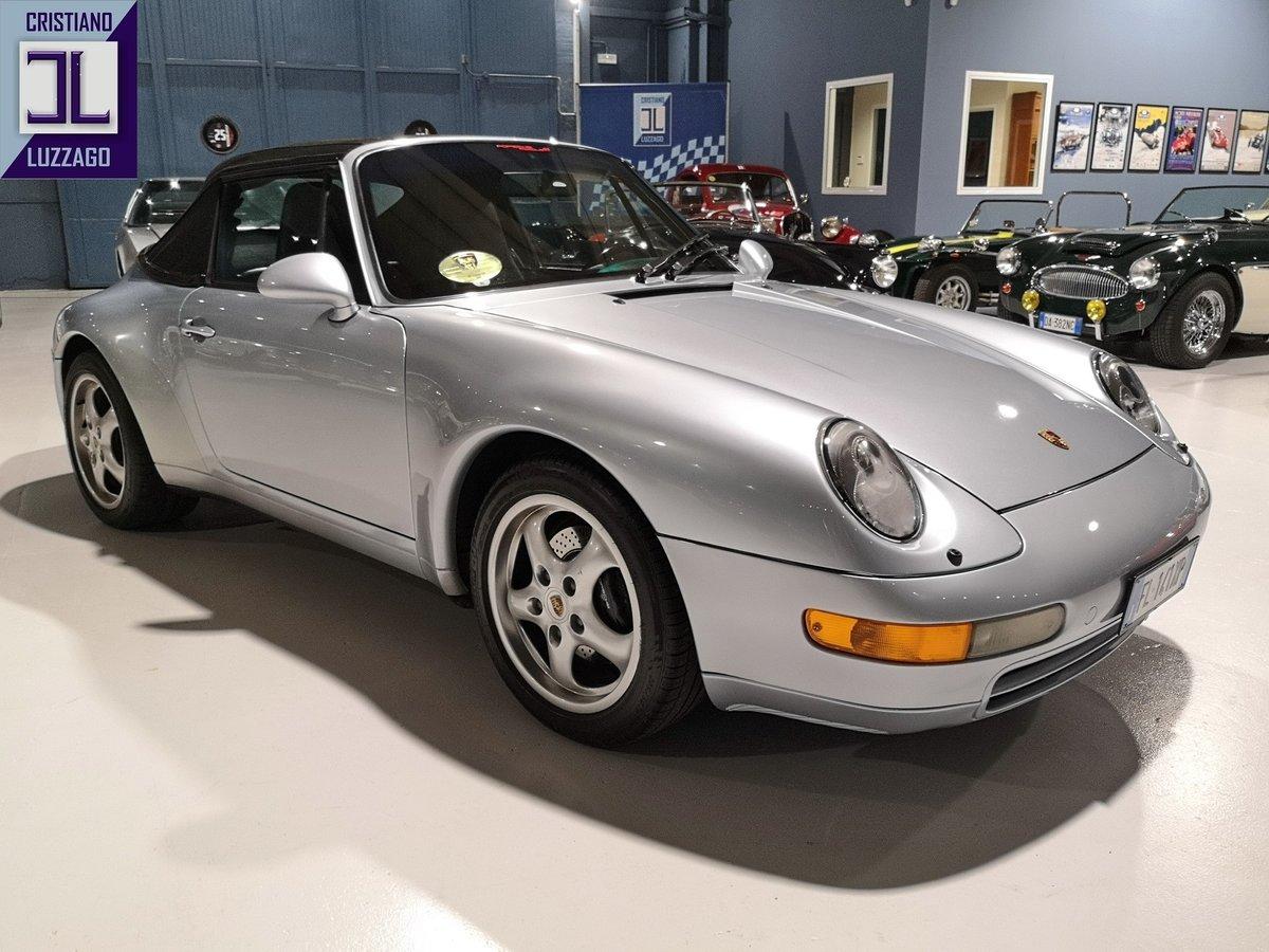 1995 PORSCHE 993 CARRERA 2 CABRIOLET euro 63.800 For Sale (picture 2 of 6)