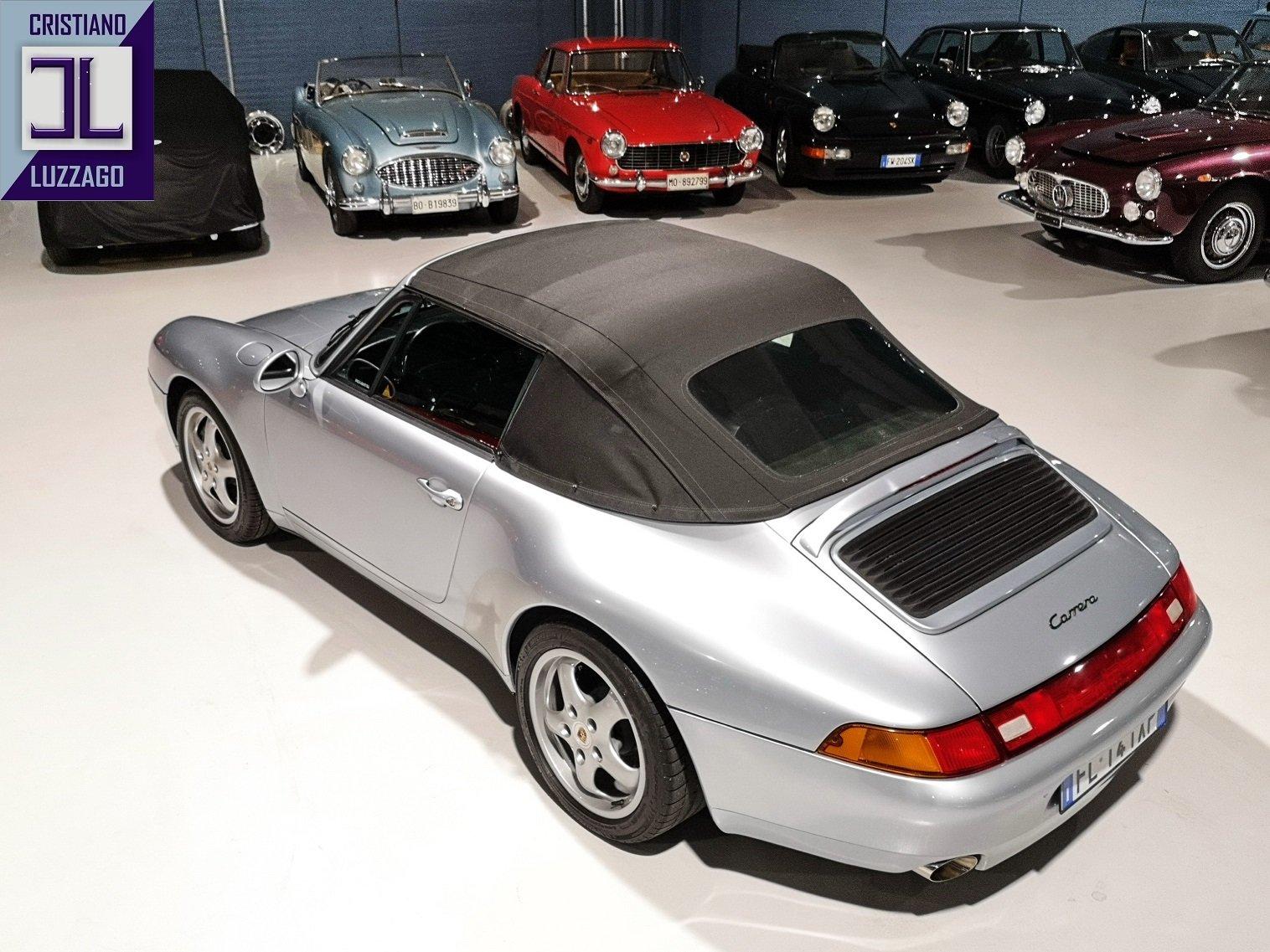 1995 PORSCHE 993 CARRERA 2 CABRIOLET euro 63.800 For Sale (picture 4 of 6)