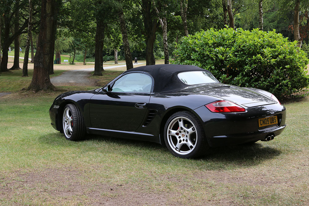 2005 Porsche Boxster 987 3.2S Basalt Black, 64000 Miles Only For Sale (picture 2 of 6)