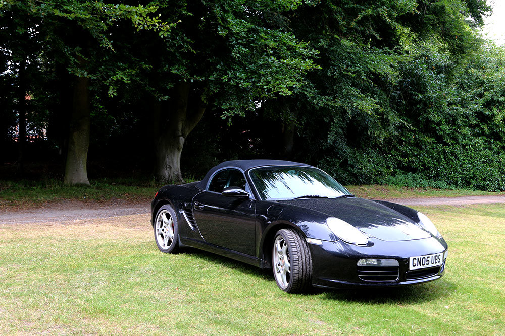2005 Porsche Boxster 987 3.2S Basalt Black, 64000 Miles Only For Sale (picture 3 of 6)