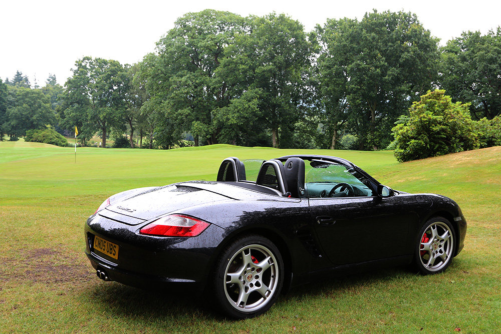 2005 Porsche Boxster 987 3.2S Basalt Black, 64000 Miles Only For Sale (picture 4 of 6)