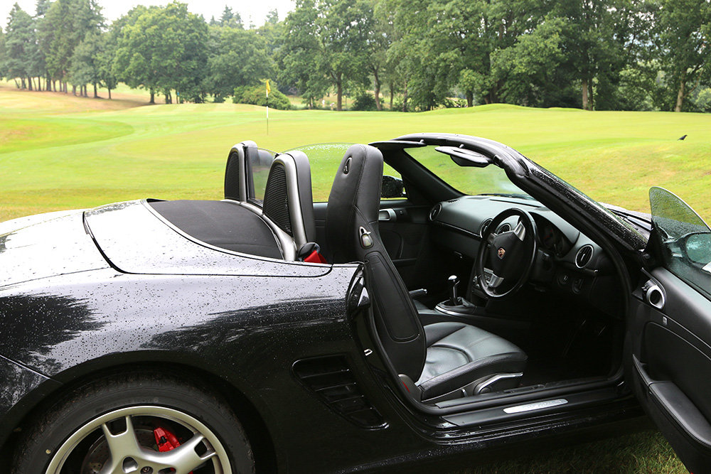 2005 Porsche Boxster 987 3.2S Basalt Black, 64000 Miles Only For Sale (picture 5 of 6)