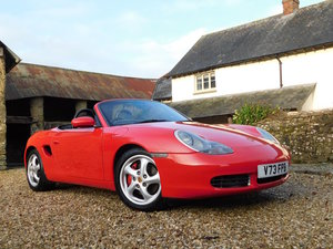 Porsche 986 Boxster 3.2 S - low mileage, immaculate