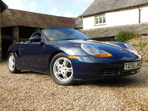 1999 Porsche 986 Boxster 2.5 - 44k miles, excellent throughout For Sale