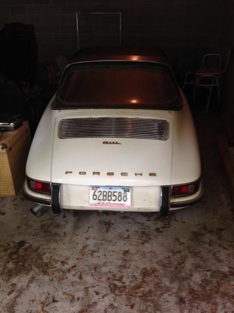 Porsche 911L 1968 Soft Window Targa, Very rare Car For Sale (picture 2 of 6)