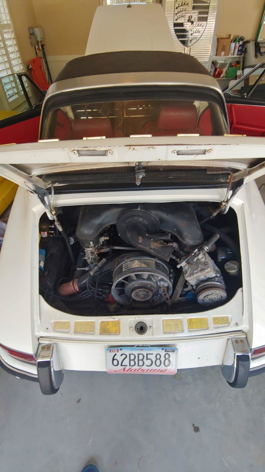 Porsche 911L 1968 Soft Window Targa, Very rare Car For Sale (picture 5 of 6)