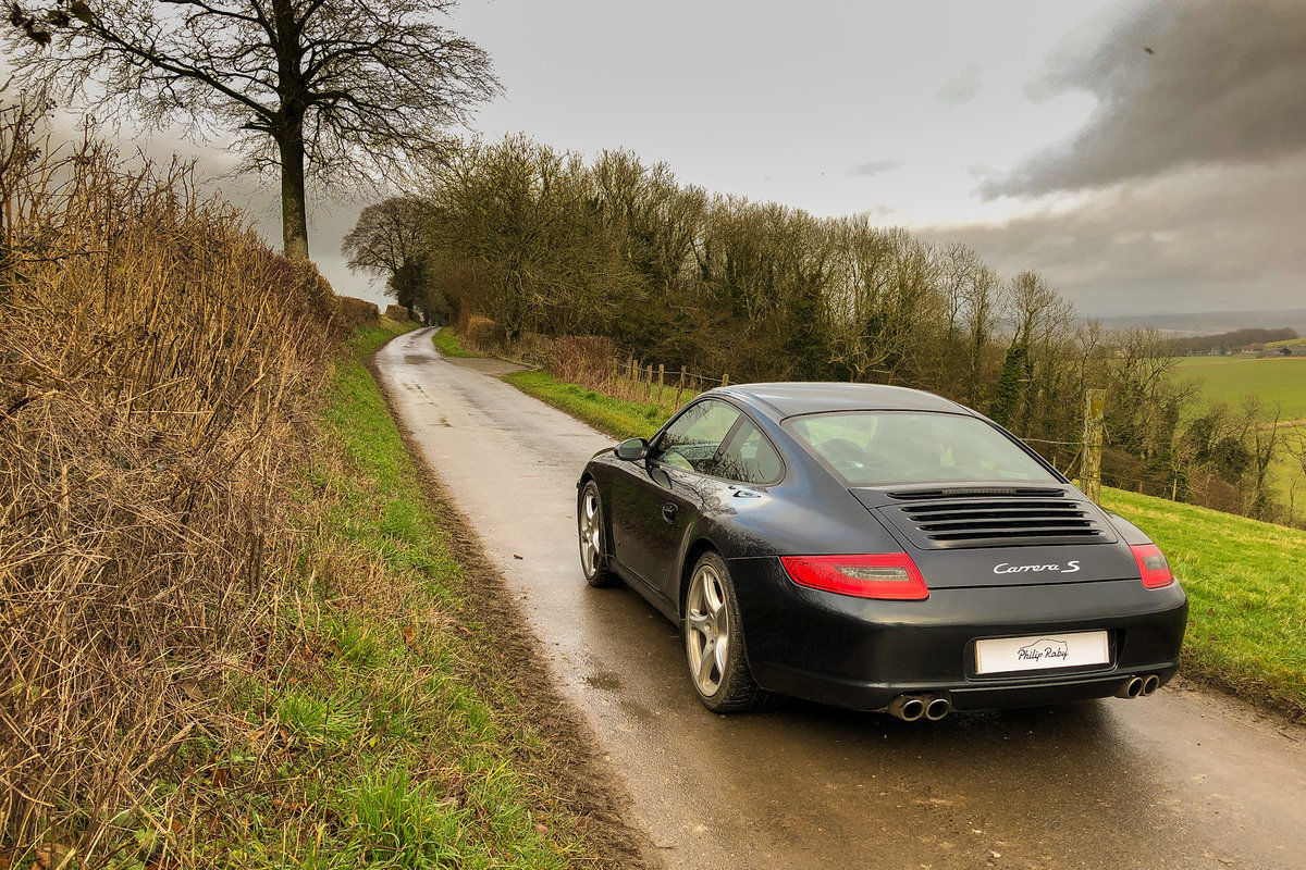 2007 Porsche 997 Carrera S, rare colour and great history SOLD (picture 6 of 6)