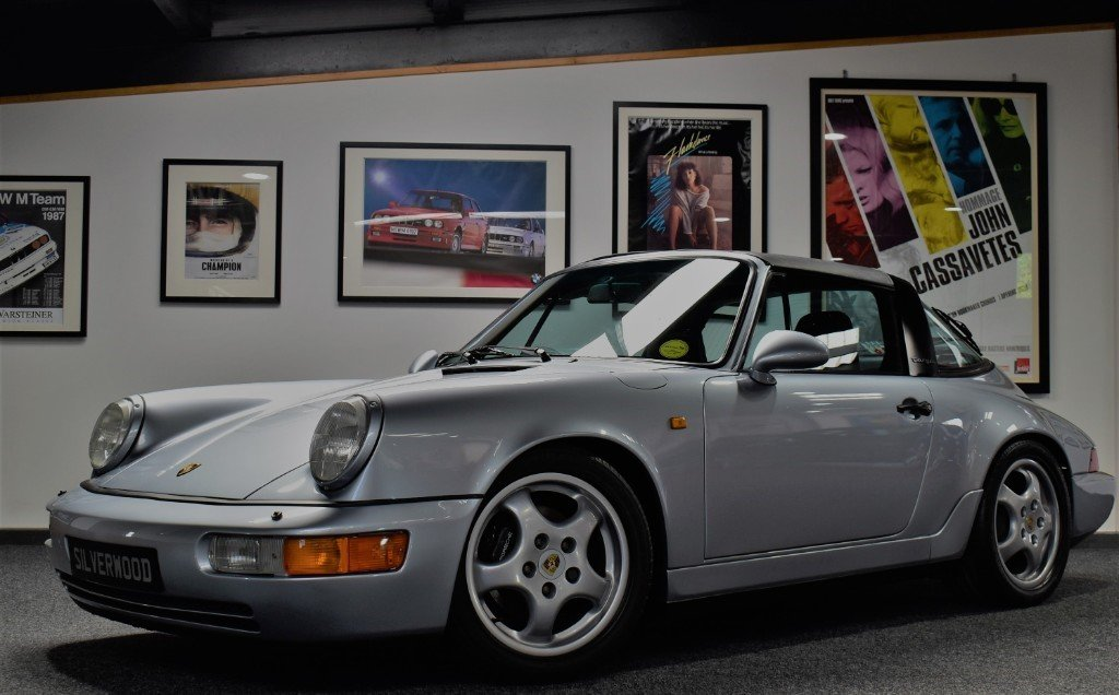 1992 Porsche 911 964 Carrera 4 Targa Significantly Enhanced 964 For Sale (picture 1 of 6)