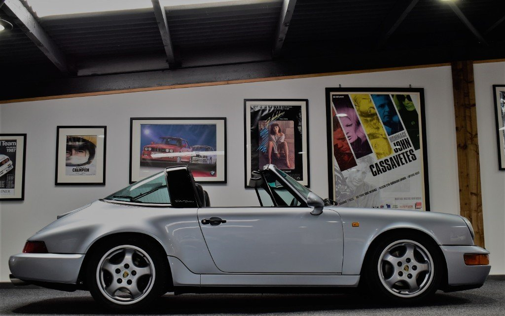 1992 Porsche 911 964 Carrera 4 Targa Significantly Enhanced 964 For Sale (picture 2 of 6)