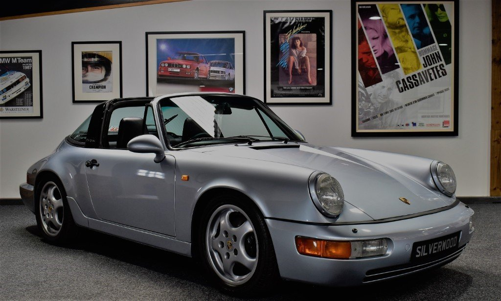 1992 Porsche 911 964 Carrera 4 Targa Significantly Enhanced 964 For Sale (picture 3 of 6)