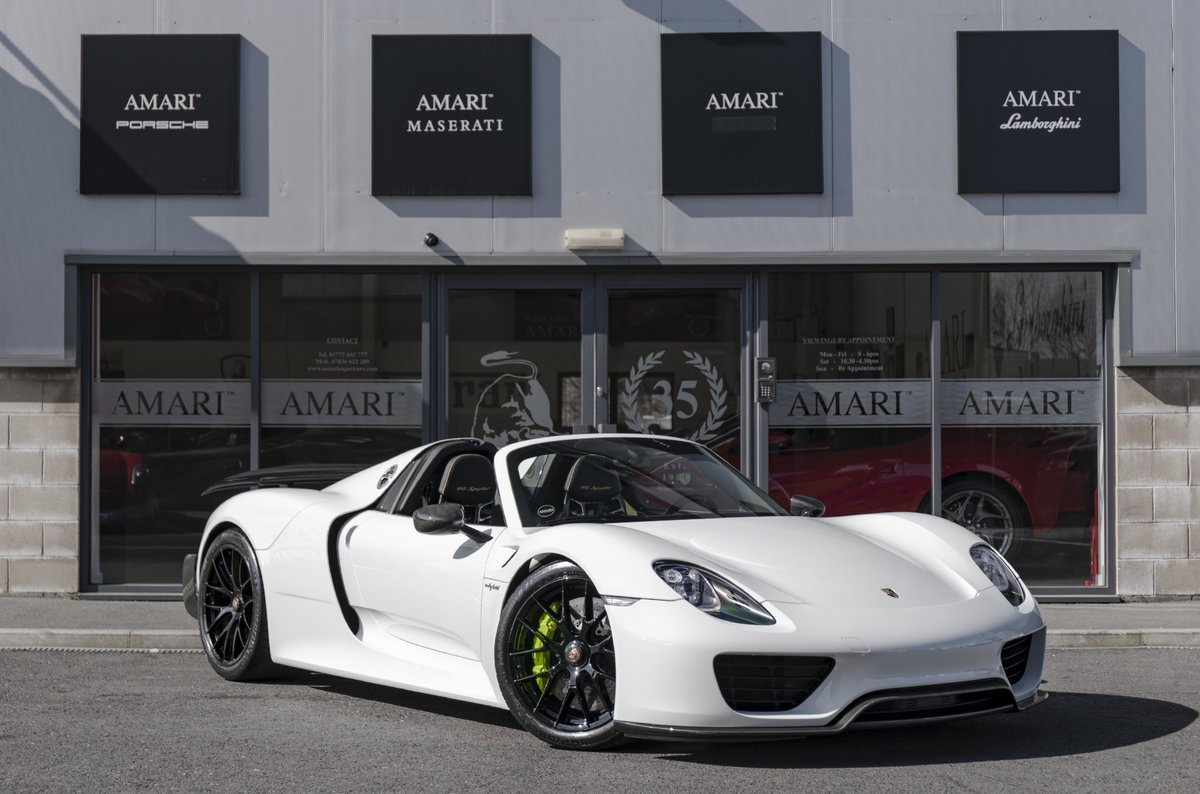 2015 15 Porsche 918 Spyder Hybrid For Sale (picture 1 of 6)