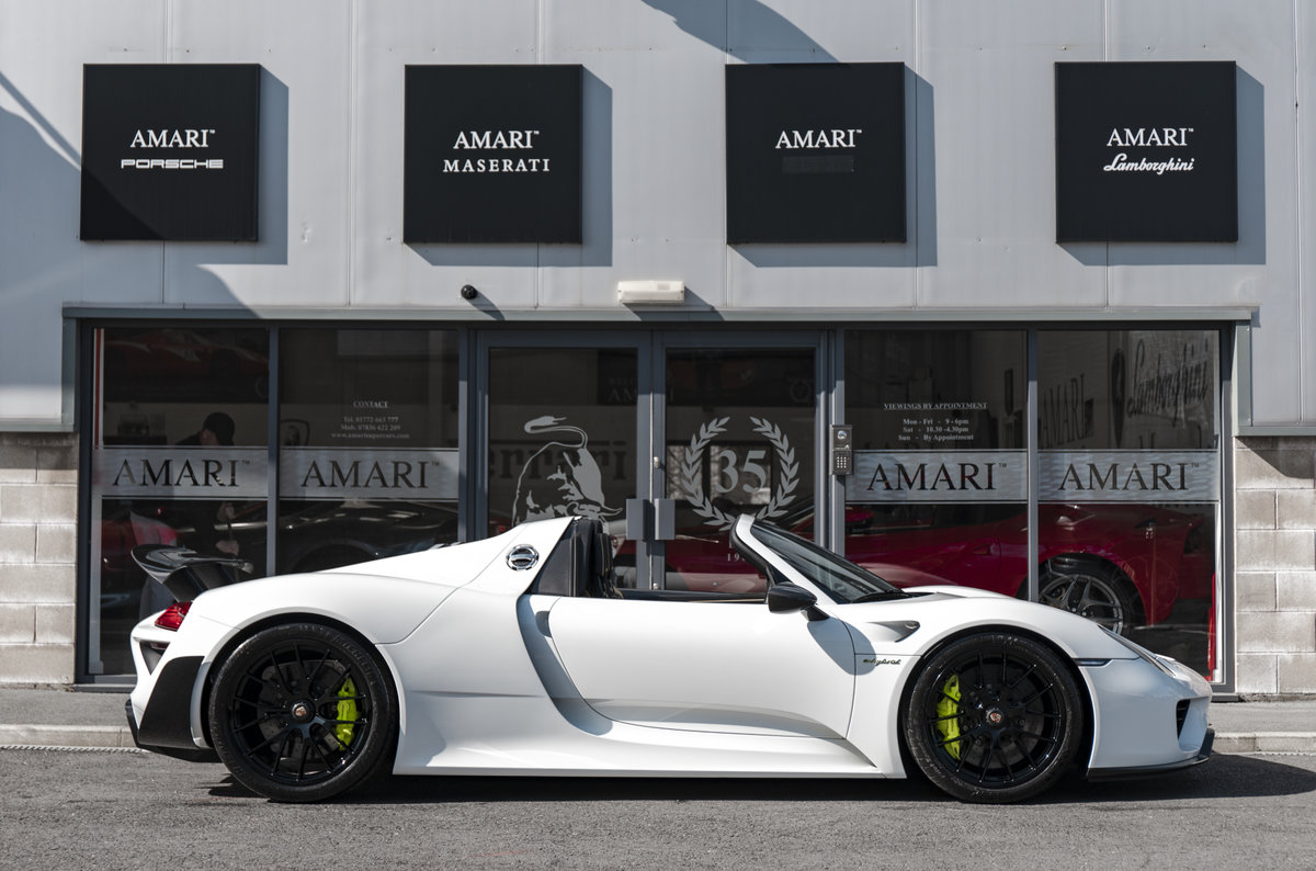 2015 15 Porsche 918 Spyder Hybrid For Sale (picture 2 of 6)