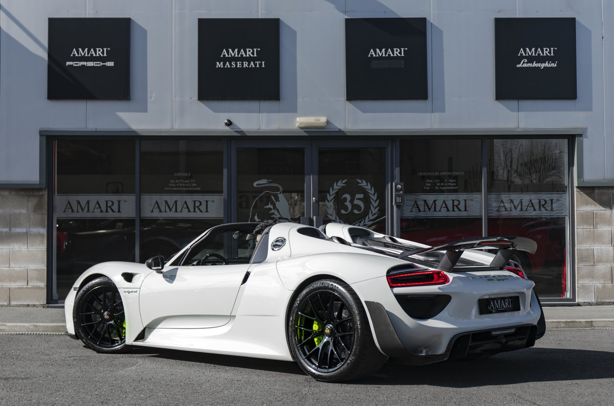 2015 15 Porsche 918 Spyder Hybrid For Sale (picture 3 of 6)