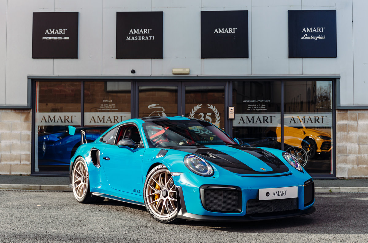 2018 18 Porsche 911 991 GT2 RS - Miami Blue For Sale (picture 1 of 6)