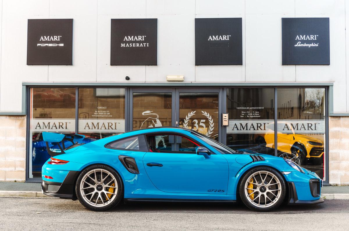2018 18 Porsche 911 991 GT2 RS - Miami Blue For Sale (picture 2 of 6)