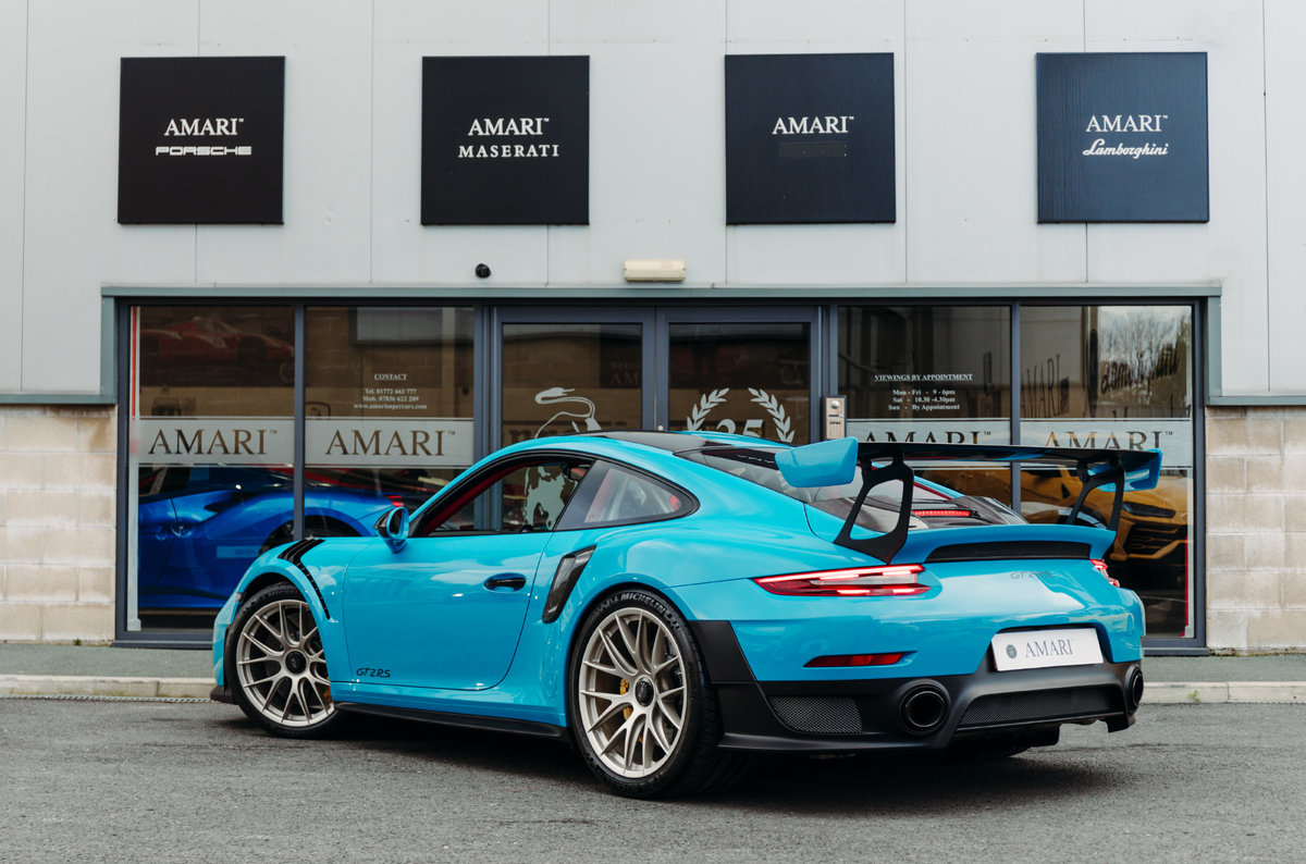 2018 18 Porsche 911 991 GT2 RS - Miami Blue For Sale (picture 3 of 6)