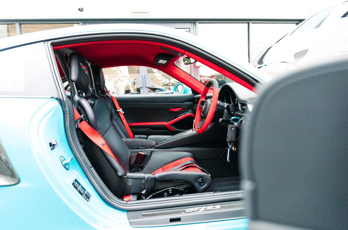 2018 18 Porsche 911 991 GT2 RS - Miami Blue For Sale (picture 5 of 6)
