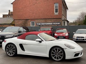 2017 PORSCHE 718 BOXSTER 2.0 TURBO PDK AUTO - LHD LEFT HAND DRIVE SOLD