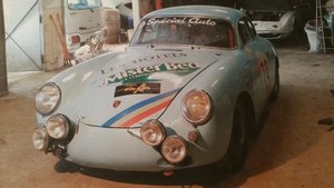 Porsche 356 competition ex Jaquy Dechaumel 1963 PROJECT For Sale
